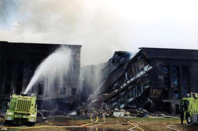 FBI, Pentagon Binasındaki Yıkımı Gösteren Fotoğrafları Yayınladı! - 1