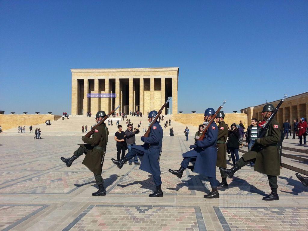 Anıtkabir'deki Önlem Herkesi Şaşırttı! - 1