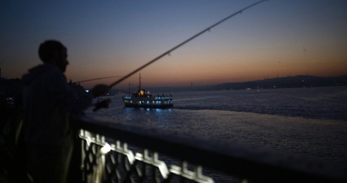 Galata Köprüsünde Hareketli Dakikalar - 1