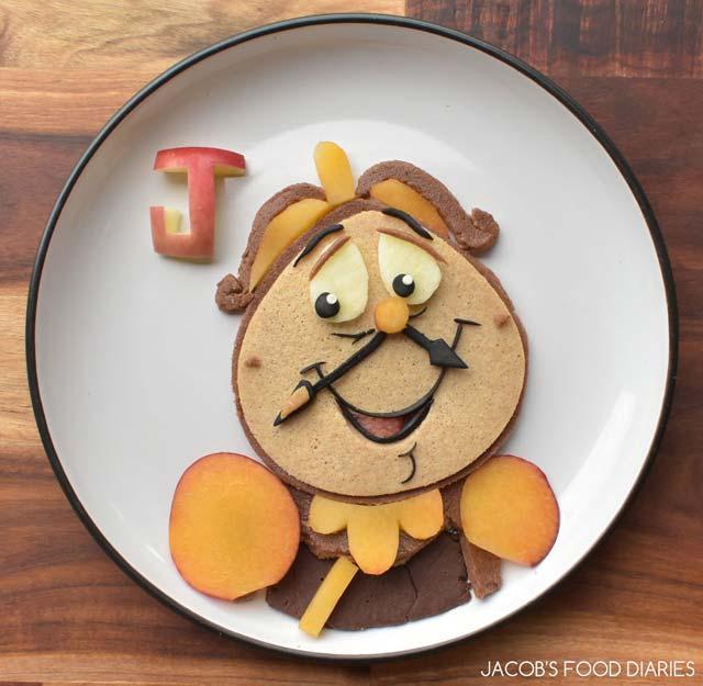 Yemekleri Animasyon Karakterleri ile Birleştirerek Harikalar Yaratıyor! - 1