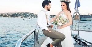 Rüzgar Erkoçlar Ve Tuğba Beyazoğlu Evlendi! İşte Düğünden İlk Kareler