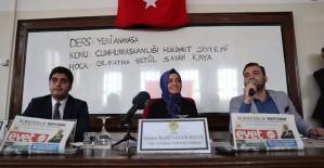 AK Parti Genç Kürsü Programları Yoğun İlgi Gördü