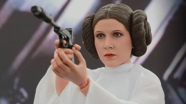 Carrie Fisher, Ölümünün Ardından Star Wars'un Yeni Serisinde Oynayacak! - 1