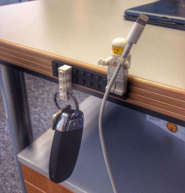 Ev Dekorasyonunda Legolar Kullanarak Harikalar Yaratabilirsiniz! - 1