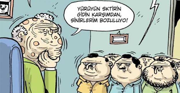 HAFTANIN EN KOMİK KARİKATÜRLERİ - 1
