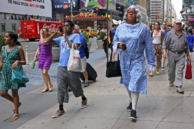 NewYork'ta İlginç İnsanlar Herkesi Hayrete Düşürdü - 1