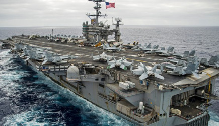 ABD Donanma Uçağı Düştü!