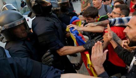 Barcelona'da Şiddet Tırmanıyor!