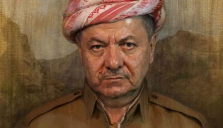 Barzani Yandaşlarının Putin'li Eylemi Yaptı!