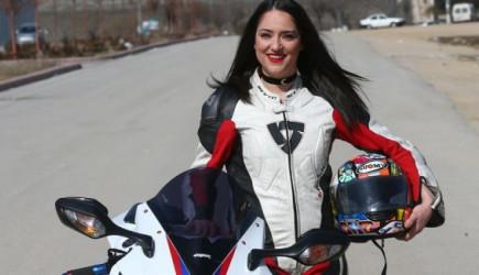 Başarılı Motosikletçisi Nazlıcan: Bu İşin Cinsiyeti Olmaz