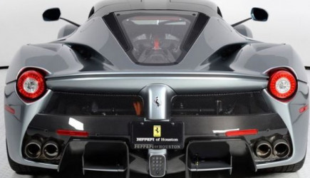 Bu Ferrari'ye 14 Milyon Lira Fiyat Biçtiler