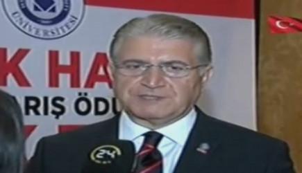 Dr. Mustafa Aydın; Demokrasi Direnişi Nobel'e Aday.
