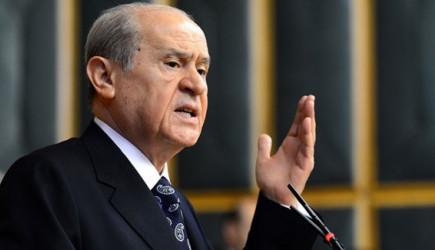 Devlet Bahçeli'den Davutoğlu'na: Hangi Yüzle Konuşuyorsun!