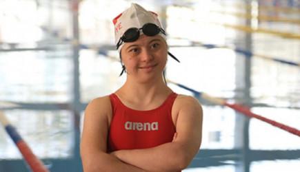 Down Sendromlu Yüzücünün Gözü Avrupa Şampiyonluğunda!