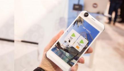 Dünyada Bir İlk! 360 Derece Çekim Yapabilen Telefon İcat Edildi!