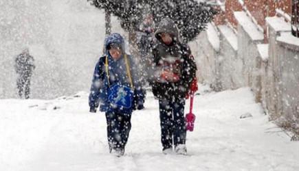 Eğitime Kar Engeli: Okullar 2 Gün Tatil