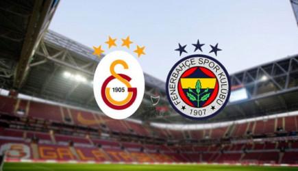 Galatasaray-Fenerbahçe Derbi Maçı Ne Zaman Saat Kaçta? İşte İlk 11'ler!