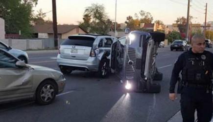Google'ın 'Sürücüsüz' Sürüşü Kazayla Sonuçlandı!