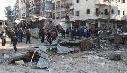 Halep'te Pazar Yerine Hava Saldırısı! 10 Ölü