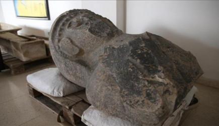 Hatay'da 3 Bin Yıllık Kadın Heykeli Bulundu