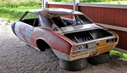 Hurda Otomobili Nasıl Yenilediler?