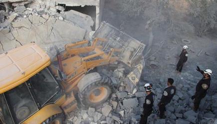 İdlib'e Hava Saldırısı! 17 Sivil Öldü