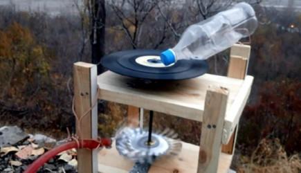 İlkokul Mezunu Tamirci Su İle Çalışan Gramofon Yaptı!