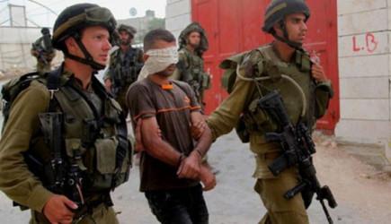 İsrail Askerleri 13 Filistinliyi Gözaltına Aldı!