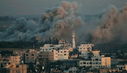 İsrail Savaş Uçakları Gazze'yi Bombaladı!