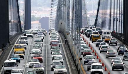 İstanbul Trafiği Kilit! Köprülerde Uzun Kuyruklar Oluştu