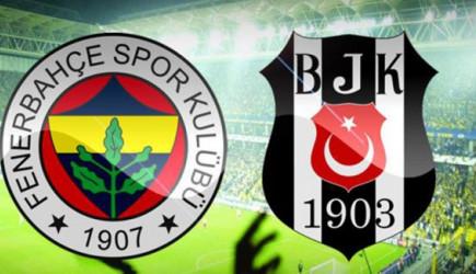 İşte Fenerbahçe - Beşiktaş Maçının İlk 11'leri