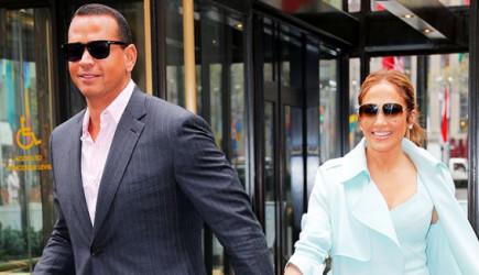 Jennifer Lopez ve Sevgilisi New York'ta Evlilik Provasında!