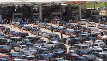 Kapıkule'den Günde 3 Bin 500 Araç Çıktı!