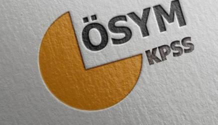 KPSS sonuçları açıklandı! Üç Soru İptal Edildi