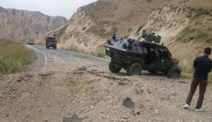 Mersin'de Polis Servisine Bombalı Saldırı!