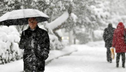 Meteoroloji Uyardı! Kar Yağışı Geliyor!