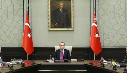 MGK Reis-i Cumhur Erdoğan Başkanlığında Toplandı!