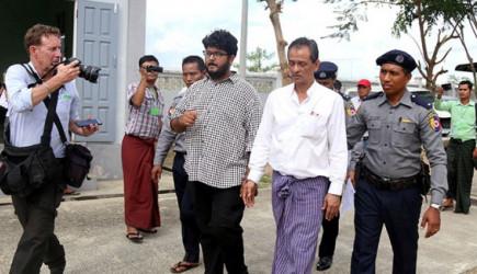Myanmar'da TRT Ekibine 2 Ay Hapis Cezası Verildi!