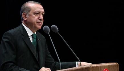 Reis-i Cumhur Erdoğan Dünya İnsan Hakları Günü Programı'nda Konuşuyor.