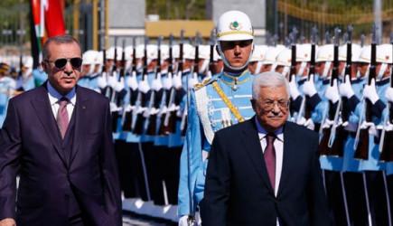 Reis-i Cumhur Erdoğan Mahmud Abbas'ı Kabul Etti!
