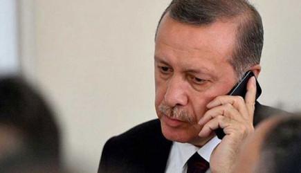 Reis-i Cumhur Erdoğan'dan Tebrik Telefonu