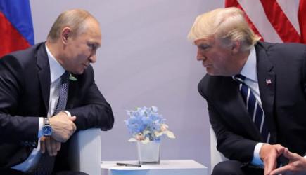 Trump İle Putin Arasında Kritik Görüşme!