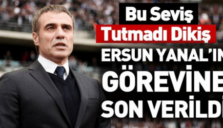 Ve Beklenen Oldu! Trabzonspor Ersun Yanal'ı Gönderdi!
