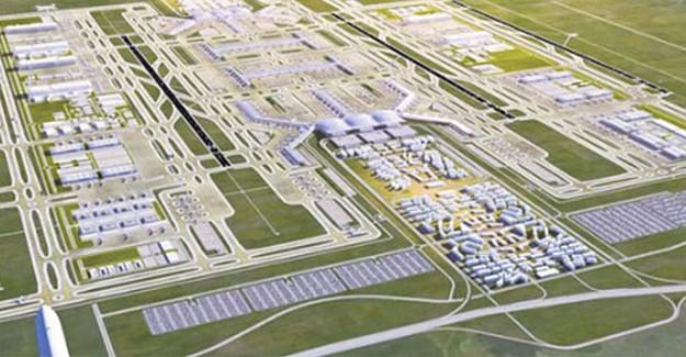 3. Havalimanı'nın Yüzde 40'ı Tamamlandı