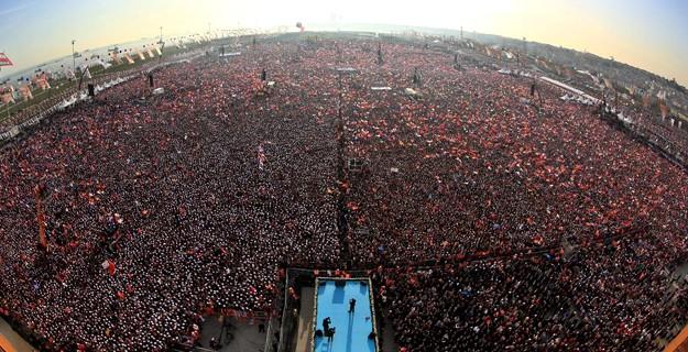 3 Partinin de Katılacağı Büyük Miting 3 Milyon Kişiyi Ağırlayacak