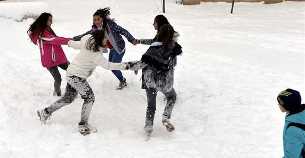 5 İlde Eğitime Kar Tatili