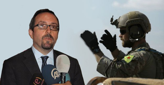 ABD Büyükelçisi'nden YPG Arması Açıklaması