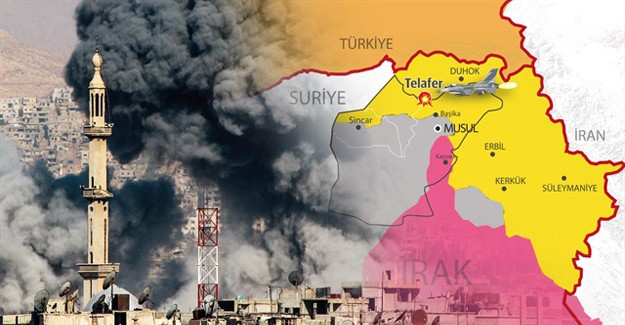 ABD Destekli PKK O Kenti Almak İçin Harekete Geçti