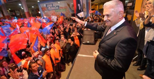 AK Parti'de Büyük Gün! Binali Yıldırım'a Sevgi Seli