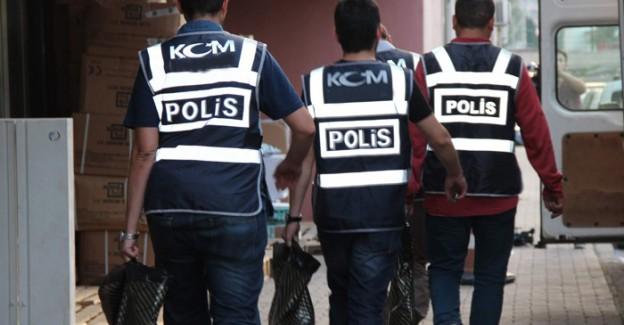 Aksaray'da 57 Polis Gözaltına Alındı